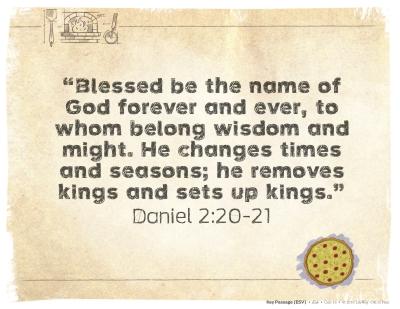 2017 February (Daniel 2:20-21)