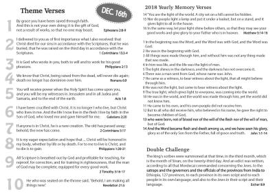 2018 Full Verses