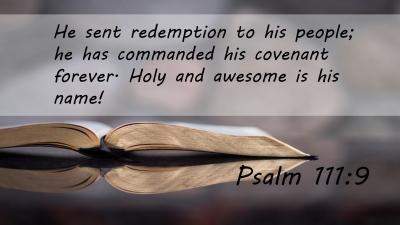 June 2019 (Psalm 111:9)
