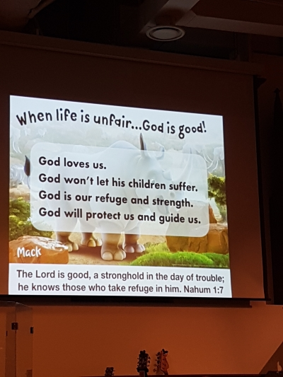 When life is unfair, God is good!